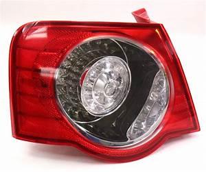 Lh Outer Tail Light Lamp 06-08 Vw Passat B6 Sedan