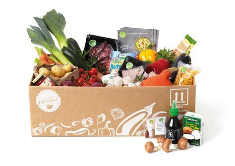box cuisine mensuel hellofresh the future of food comes in a cardboard box
