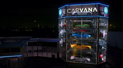Carvana Launches The 4th Of Its Absurd Car Vending Machines