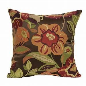 Brentwood, Originals, Tenille, Decorative, Pillow, -, Spice, -, Home, -, Home, Decor