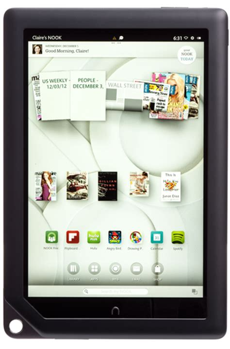 barnes and noble tablet barnes noble nook hd plus 2013 update with play
