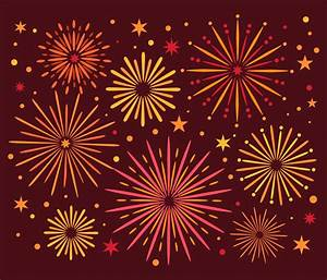 Holiday Party Background Colorful Fireworks Vector Download Free Vectors Clipart
