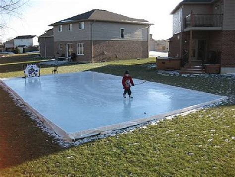 Backyard Rink Tips by Deforest S Backyard Rink Howard S Corner Of The Web