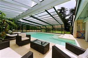 converting the pool into a real living space With prix veranda piscine couverte