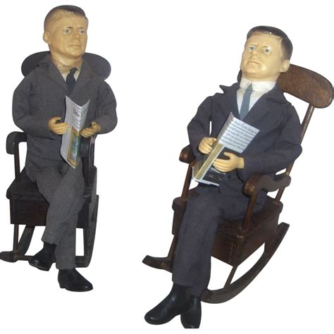 Jfk Rocking Chair Doll by All The Presidents Dolls Ruby