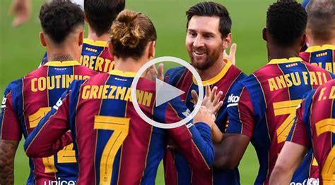 Barcelona vs Villarreal Liga Española 27 de Septiembre 2020