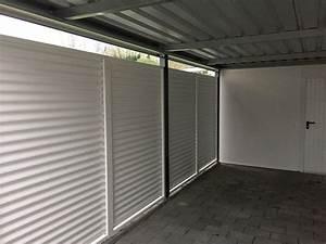 Einzelcarport Mit Geräteraum : einzelcarports carceffo moderne carports garagen ~ Buech-reservation.com Haus und Dekorationen