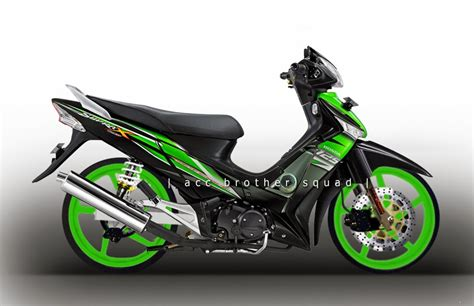 Gambar Motor Supra X Modifikasi by Modifikasi Honda Supra X