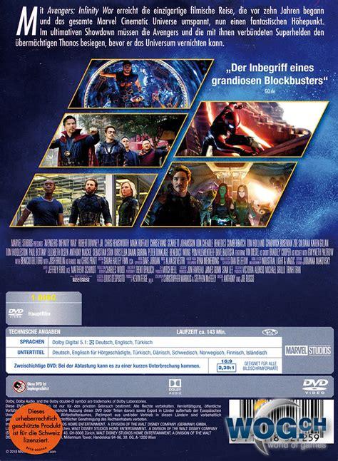 avengers infinity war dvd filme world  games