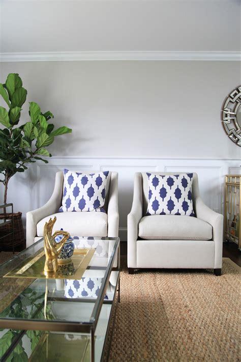 Living The by Formal Living Room Lemon Stripes