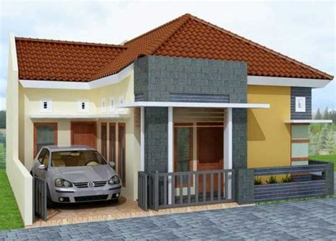 13 ide model rumah minimalis 1 lantai type 45