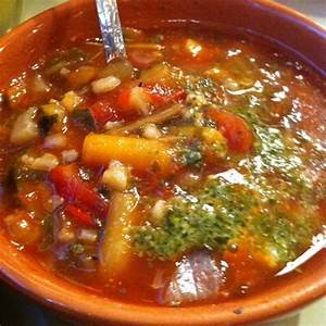Panera bread garden vegetable soup with pesto foodspotting for Panera bread garden vegetable soup recipe