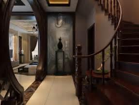 home interior staircase design villas interior wooden staircase design