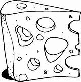 Cheese Dairy Coloring Pages sketch template