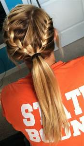 French braid into ponytail | Hair & beauty | Pinterest ...
