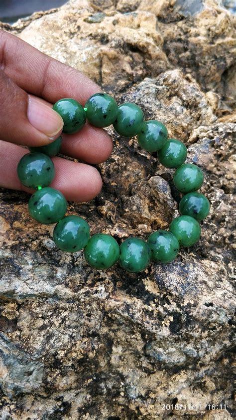 jual gelang giok aceh natural nephrite jade di lapak darma gemstone darma gemstone