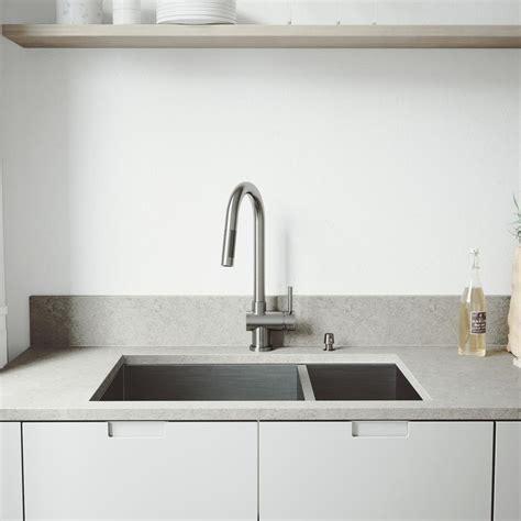kitchen sinks review vigo all in one undermount stainless steel 29 in 3047