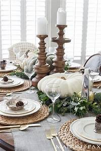 thanksgiving, table, decorations, and, ideas