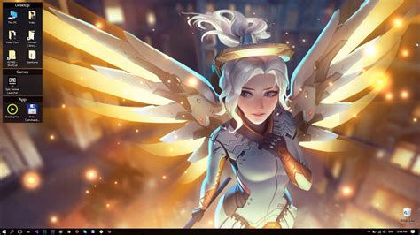 Animated Overwatch Wallpaper - 86 mercy wallpaper mercy wallpapers by me 3840x2160