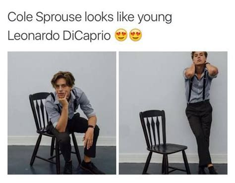 cole sprouse  leonardo dicaprio google search
