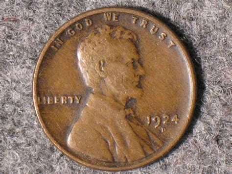 1924-d Lincoln Wheat Cent