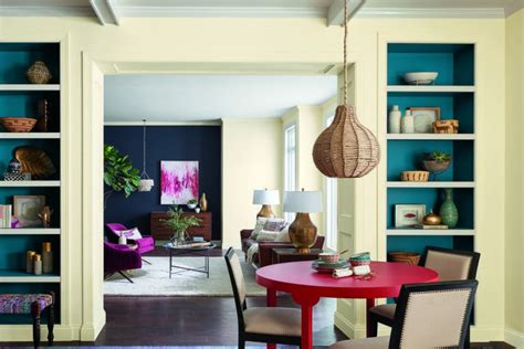 21+ Stupendous Dining Room Color Trends