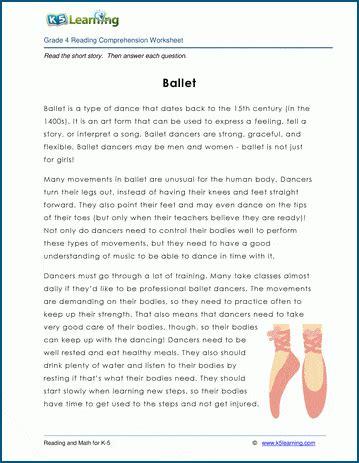 ballet grade  childrens story  learning