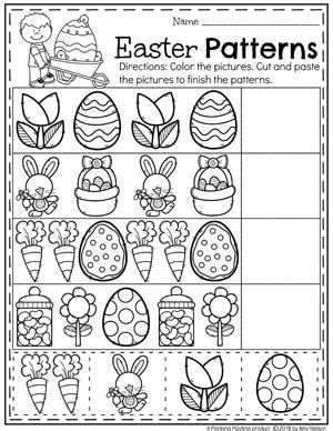 easter worksheets epic preschool ideas hojas de