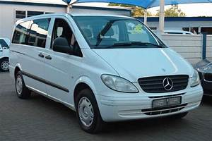 2008 Mercedes Benz Vito 115 Cdi 2 2 Crew Bus Multi Purpose
