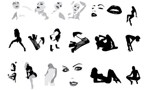 Adobe Illustrator Sexy Vectors Set 2 Download By Go Media