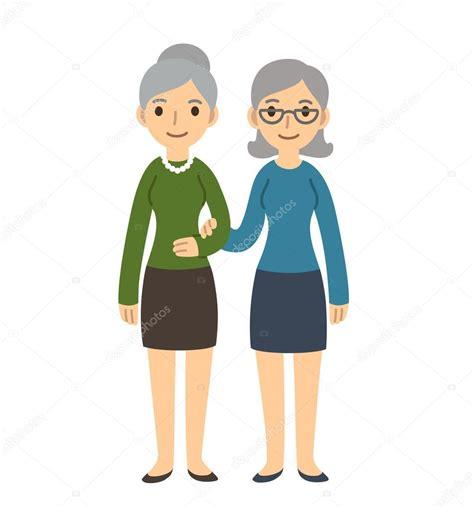 mulheres mais velhas dos desenhos animados vetores de stock 169 sudowoodo 77582696