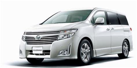 Modifikasi Nissan Elgrand by Spesifikasi New Nissan Elgrand Dipasarkan Kuartal