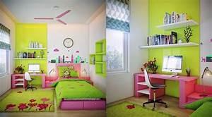 Neon Deco Chambre : couleur chambre d 39 enfant et ado 25 exemples inspirants ~ Teatrodelosmanantiales.com Idées de Décoration