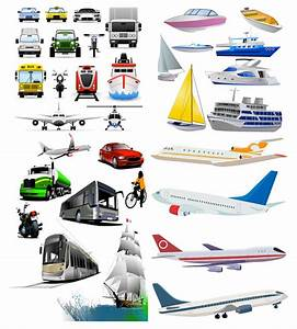 Vehicles and transport vector | Free Vector Stock ...