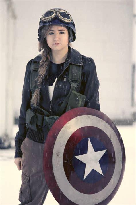 lady captain america saves  day adafruit industries