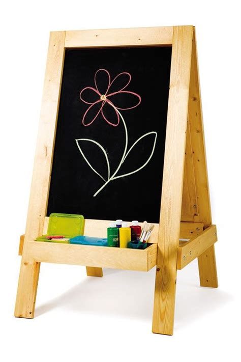 build  perfect easel  children give  young artist