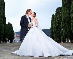 swarovski heiress victoria swarovskis extravagant wedding With victoria swarovski wedding dress