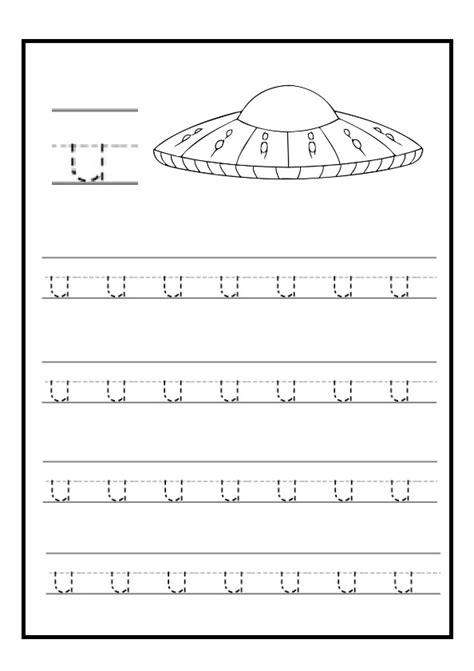Lowercase Letter U Free Printable Worksheet For Kindergarten  Primary School  Preschool Crafts
