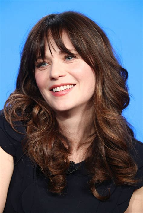 Zooey Deschanel Hairstyle with Bangs