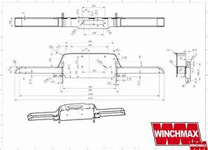 Land Rover Defender 13000lb Recovery Winch 13 000lb