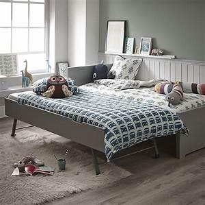 Lit Gigogne 2 Places : une chambre design et douce avec le lit gigogne oscar ~ Preciouscoupons.com Idées de Décoration