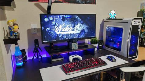 jtg ultimate  gaming pc desk setup  youtube