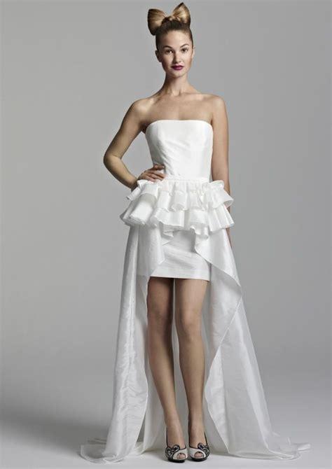 white hot wedding reception dresses
