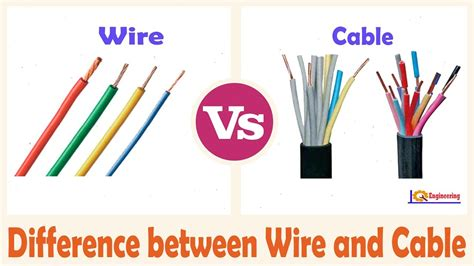 wire vs cable difference between wire and cable drive by