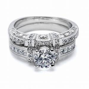 Tacori 18 Karat Crescent Wedding Band HT2196B TQ Diamonds