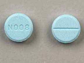 N008 Pill Images (Blue / Round)