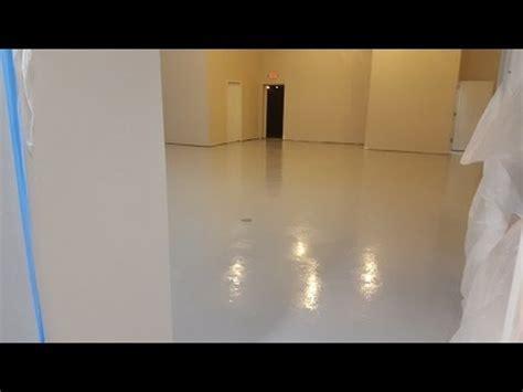 Sherwin Williams  General Polymers Epoxy Flooring   YouTube