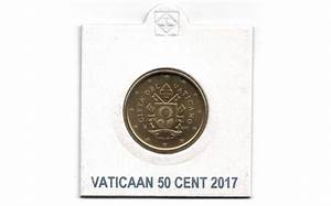 Vatikan 50 Cent 2017 UNC   Eurocoinhouse