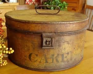 Vintage Painted Tin Box