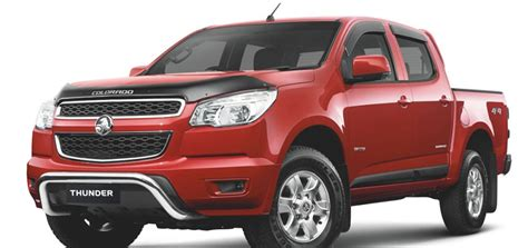 holden colorado thunder pack   gm authority